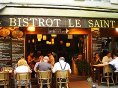 Bistro Lee St.Emillion, 43 rue de la Harpe Paris