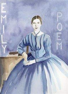 I love this painting of Emily Dickinson! She is my favorite poetess. American Poets, American History, Emily Dickinson Poems, Modern Poetry, Poetry Foundation, Homeschool Books, Inspirational Poems, Writers And Poets, Rainer Maria Rilke