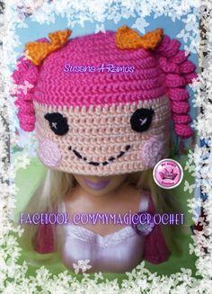 Pink Lalaloopsy Crochet Hat https://www.etsy.com/your/shops/MyMagicCrochetUS