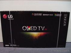 "LG OLED55C6P 55"" Curved Smart OLED Panel HDTV TV 4K Ultra HD NEW Dolby Vision 3D…"