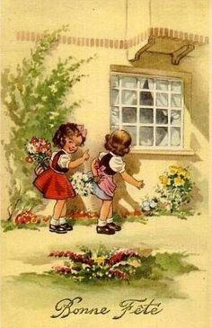 Gallery.ru / Foto # 10 - Oude ansichtkaarten met kinderen. Wordt vervolgd. - Anneta2012