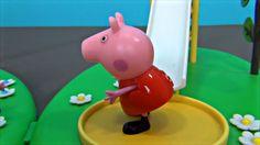 Peppa Pig en Español. Peppa y George se quedan en casa solos. Peppa Cerd...