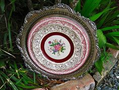 Traditional Style China Wall Hanging by SilverPlatedLiving, $80.00