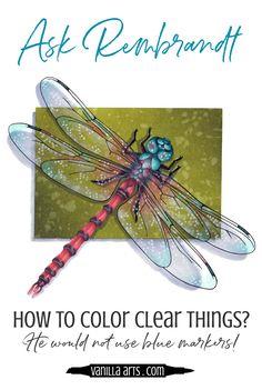 Translucent & Sheer coloring: Learn the Glazing technique for Copics + Colored Pencil — Vanilla Arts Co. Coloring Tips, Adult Coloring, Coloring Books, Coloring Stuff, Colored Pencil Tutorial, Colored Pencil Techniques, Glazing Techniques, Art Techniques, Coloring Tutorial