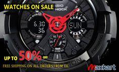 Watches on Sale Up to 50 % Off. Maxkart.co.uk #DSLR #Camera #Lenses #Sigma #Watch #photography #MaxKart #uk #Sale #Casio #Gshock #protek