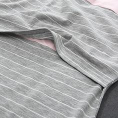 b6920b33f47 Maternity Styles - FULAbao Womens Maternity Nursing Tops Striped Patchwork  Short Sleeve Maternity Breastfeeding TShirt GreyPink