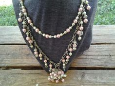 April Challenge Lariat Necklace