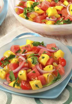 Mango salsa -perfect for summer!