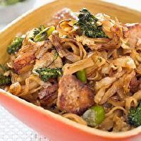 Thai-Style Stir-Fried Noodles with Chicken and Broccolini by Cook's
