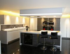 Bespoke contemporary designed and fitted kitchen by Ream #bespoke #metris #kitchens  #Kent