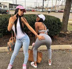 Black girls are gorgeous too Go Best Friend, Best Friend Outfits, Best Friend Goals, Best Friends Forever, Sisters Goals, Bff Goals, Squad Goals, Best Friend Pictures, Friend Photos