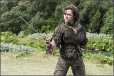 Give a Girl a Sword! Game of Thrones Actress Inspiring Girls to take up Sword Fighting...