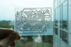 New technique to print ink-based electrical circuitry using a desktop printer By Randall Marsh November 10, 2013 Georgia Tech's printed circuit technique could make it cheaper and faster for professionals and DIYers to create prototype electronics