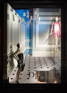 Christian Dior at Bergdorf Goodmans - May 2013 - NY via thewindowshopper.co.uk