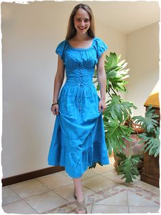 Vestito lungo cotone splendido vestito lungo di cotone aderente nel busto f9d1abbc529
