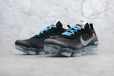 The Ten: Nike Air Vapormax FK '' Black '' Virgil Abloh's Nike Air VaporMax 2018 Virgil Abloh, Running Shoes Nike, Nike Shoes, Nike Air Vapormax, New York Fashion, Milan Fashion Weeks, Africa Fashion, Fashion Models, Runway Fashion