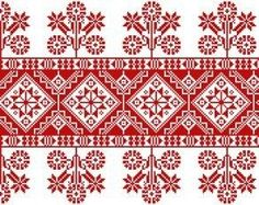 Chain Stitch Embroidery, Embroidery Stitches, Embroidery Patterns, Machine Embroidery, Cross Stitch Borders, Cross Stitching, Cross Stitch Patterns, Hungarian Embroidery, Folk Embroidery