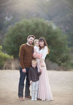 Rustic family photos by Annie McElwain | 100 Layer Cakelet
