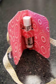 Lip Balm Holder Tutorial : Core'dinations ColorCore Cardstock®