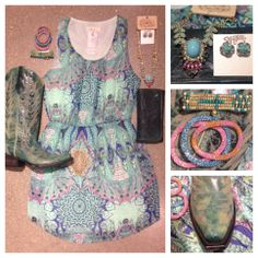 A girl can never have too much turquoise.  Southern Thread Austin, TX