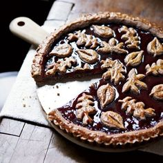 Linzer Torte // More Beautiful Desserts: http://www.foodandwine.com/slideshows/beautiful-desserts #foodandwine