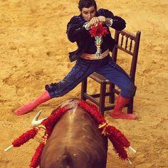 Morante, Goyesca 2013 el duende gitano  haciendo su magia Oleee
