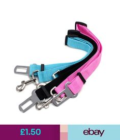 Harnesses Dog Cat Pet Car Safety Seat Belt Harness Restraint Lead Adjustable Travel Collar #ebay #Home & Garden Dog Belt, Dog Seat Belt, Seat Belts, Seat Belt Harness, Dog Harness, Safety, Cats, Garden, Travel