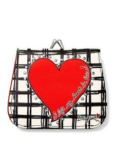 Brighton Women's Paris Heart French Kiss Wallet - Multi - One Size Brighton Wallets, Brighton Handbags, French Kiss, Coin Purse, Paris, Stylish, Heart, Accessories, Nice
