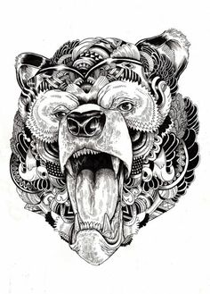 Mandala Bear