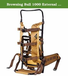 Browning Bull 1000 External Frame Pack. Browning Bull 1000 External Frame Pack. Built to carry heavy loads to and from the woods. Need some extra strength? Trust a Bull. When you head into the woods planning to come out the other side with some meat, the meat-hauler system built into this Bull Pack will be your best friend. Large, adjustable lashing straps on the back of the Pack come in handy for hauling meat and gear. Details: Lightweight, tough aluminum frame; Meat hauler system; Lash...