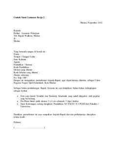 Contoh Surat Lamaran Kerja Ahli Fraksi Dprd Ben Jobs Contoh