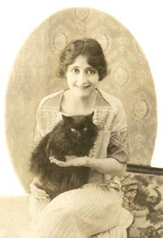 """Clara Kimball Young"""" Slient film actress (1915)"""