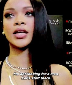 And when Rihanna put an end to a similar line of questioning. | 31 Times Celebrities Gave The Best Damn Responses To Sexist Questions