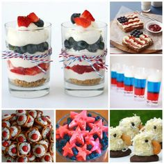 We are getting ready with our 4th July celebration planning. And are starting to look at differen patriotic treats and patriotics desserts. We have found a mixture of delicious treats that I think you may like to have a go…