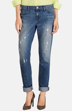 J Brand 'Jake' Distressed Slim Boyfriend Jeans (Broken) available at #Nordstrom