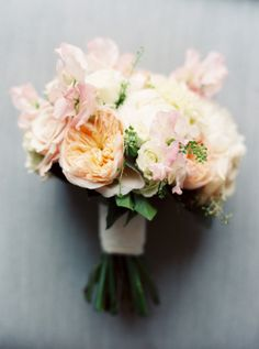 Peach and Blush Wedding Bouquet | photography by http://www.annieparishphotography.com/