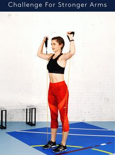 This 30-Day Challenge Will Sculpt Your Arms Like Crazy #refinery29  http://www.refinery29.com/resistance-bands-30-day-arm-challenge