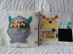 Download The Monster Album - Quiet Book Sewing Pattern | CopyCrafts | YouCanMakeThis.com