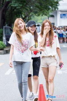 APink HaYoung, EunJi and BoMi