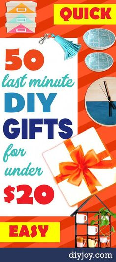 Cheap Last Minute Gifts DIY – Inexpensive Fast DIY Gift Ideas for a … – diy kid room decor Christmas Presents For Dad, Presents For Kids, Diy Presents, Gifts For Kids, Christmas Diy, Homemade Christmas, Mom Gifts, Teacher Gifts, Birthday Present Diy