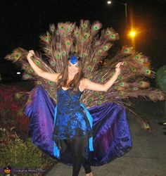 Peacock - Homemade costumes for women