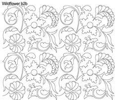 AnneBright.com - Shop   Category: Digitized Designs   Product: Wildflower b2b