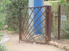 Re-bar Gate