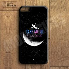 Peter Pan Take me to neverland Plastic Phone Case For iPhone 6 Plus More Style For iPhone 6/5/5s/5c/4/4s