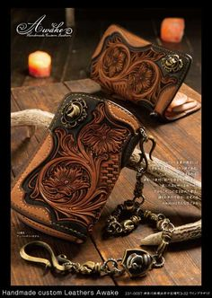 Кожа и материалы я ☆ N ЗАВОД × Handmade на заказ кож Awake блог | 201501
