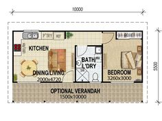 Granny pods with garage House Plans Queensland granny flat plan 4 Paxton st., Springwood Ph: 07 3177 0027 or 07 3177 0027 Not the plans shown above. Best House Plans, Small House Plans, House Floor Plans, The Plan, How To Plan, Granny Pod, Garage Bedroom Conversion, Granny Flat Plans, Saint Claude