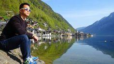 The other side of Hallstatt. ° 🚣🚣🚣 ° #Hallstatt #Austria #scenery #beautiful #lake #like #instagood #instaphoto #instapic #travel