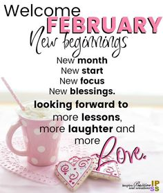 Lots of Welcome February Quotes Welcome February Images, Hello February Quotes, February Month, Happy February, Days And Months, Months In A Year, Seasons Months, New Month Wishes, Wallpaper For Facebook