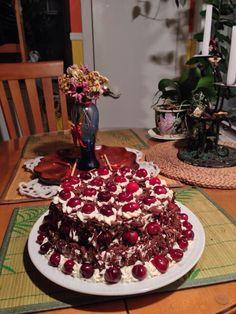 Gâteau forêts noir traditionnel