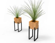 Concepts - Home Dekoration Ideen Iron Furniture, Steel Furniture, Garden Furniture, Furniture Design, Modern Plant Stand, Diy Plant Stand, House Plants Decor, Plant Decor, Wall Decor